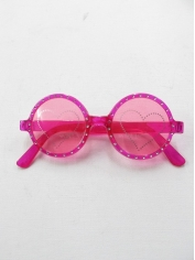 Pink Heart - Novelty Sunglasses